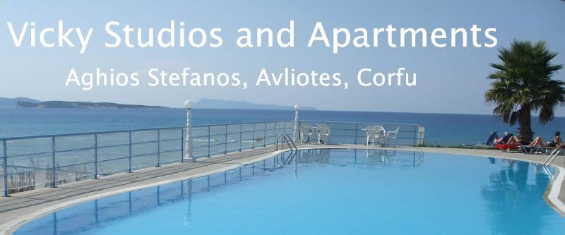 Self Catering Studios and Apartments in Agios Stefanos, Corfu
